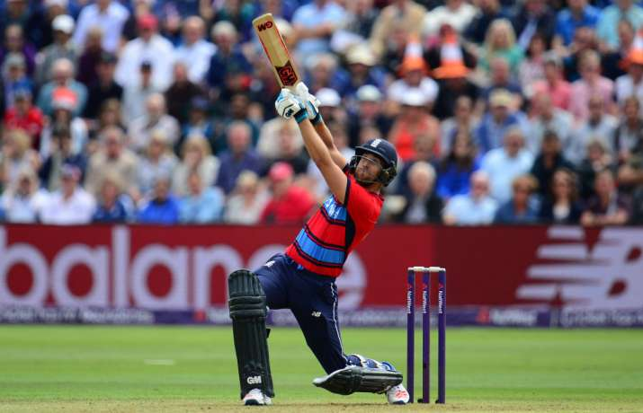 Dawid Malan of England bats during the 3rd NatWest T20