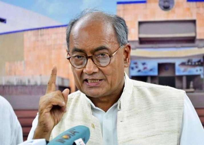 Digvijaya Singh supported demand of CBI inquiry into