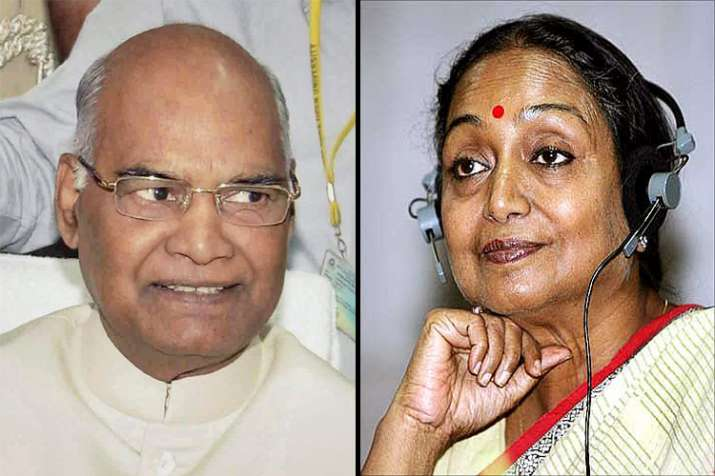 Number speak Where Ram Nath and Meira Kumar stand in the