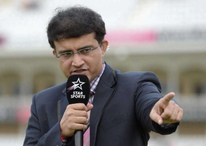 Former Indian captain Sourav Ganguly sharing his insights