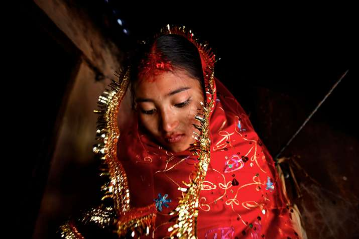 Early marriage is the result of early menstruation