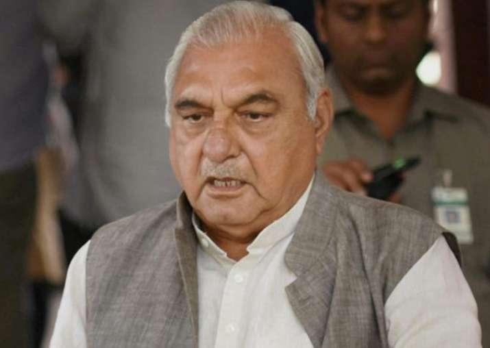 File pic of former Haryana CM Bhupinder Singh Hooda