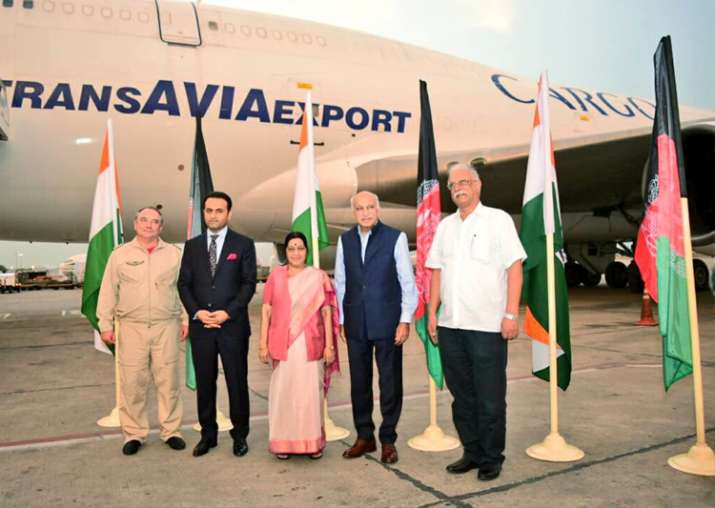 Air freight corridor between Afghanistan, India established