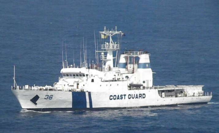 Indian Coast Guard rescues 27 stranded members from sinking