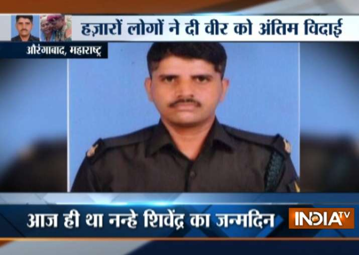 Maharashtra jawan martyred in J&K cremated on son's first