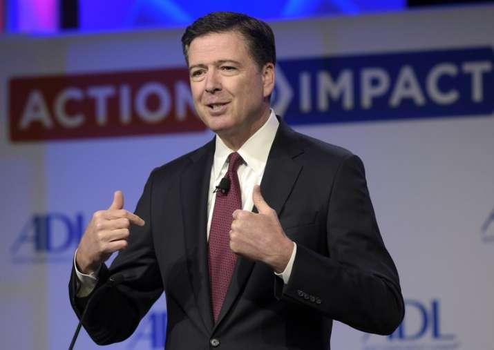Trump won't block former FBI director Comey from