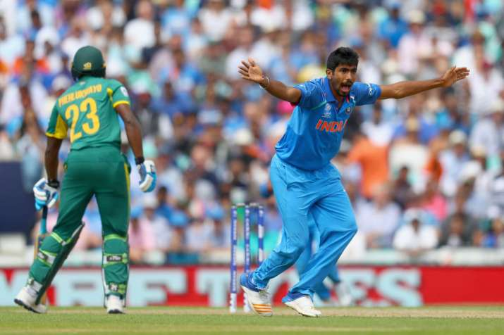Jasprit Bumrah of India succesfully appeals