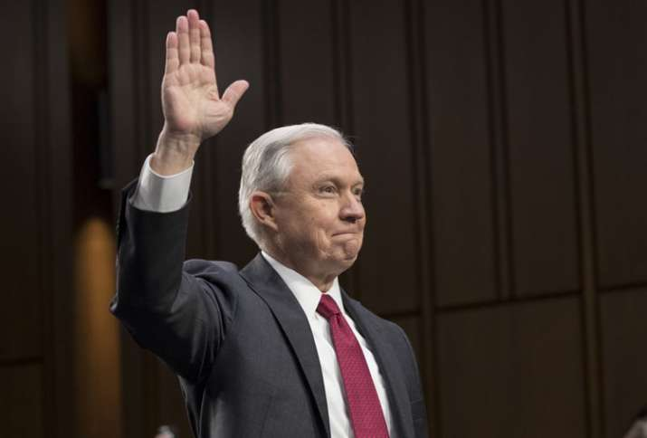 Trump's Attorney General Jeff Sessions denies improper
