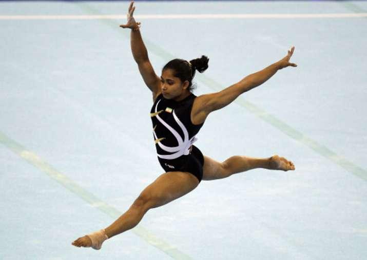 A file image of gymnast Dipa Karmakar.