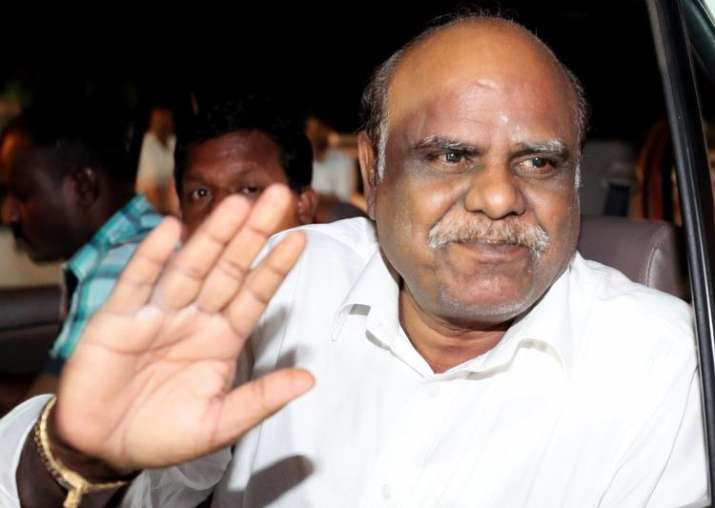 Ex-Calcutta HC judge Karnan petitions Governor for bail or