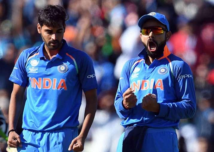 India captain Virat Kohli reacts after winning the match