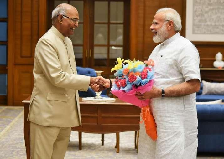 Ram Nath Kovind meets PM Modi in New Delhi