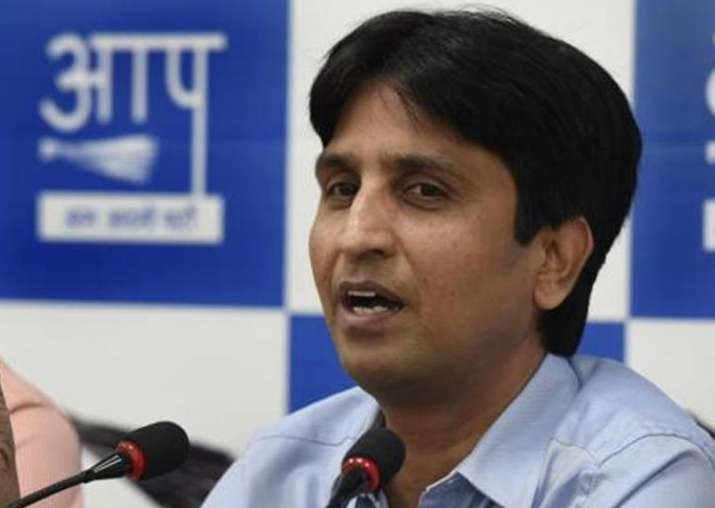 File pic of senior AAP leader Kumar Vishwas