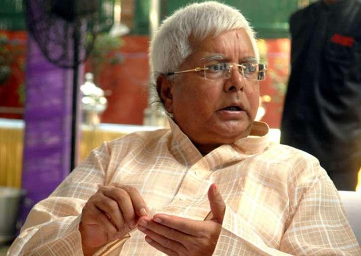 File pic of RJD supremo Lalu Prasad Yadav