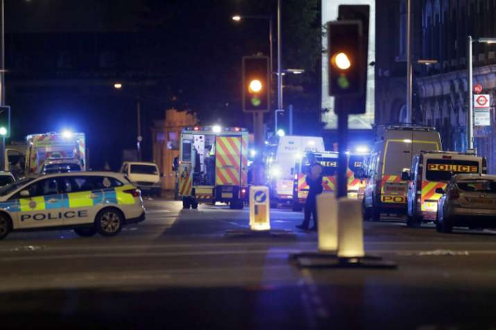 At least one killed in 'terrorist incidents' in London