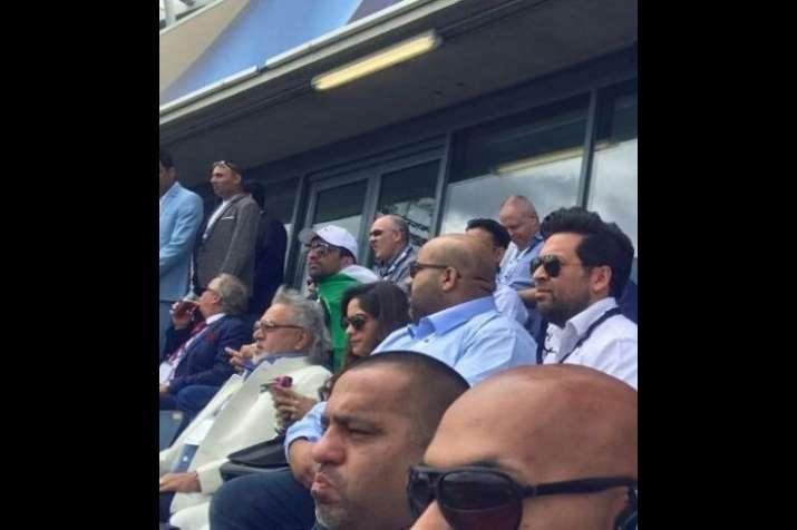 India Tv - Vijay Mallya watching Edgbaston match