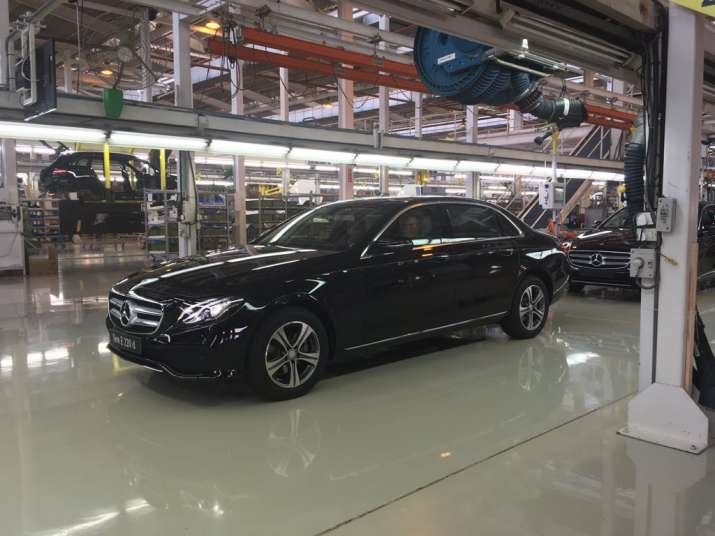 Mercedes Benz today rolled out the new E-CLass e220d priced