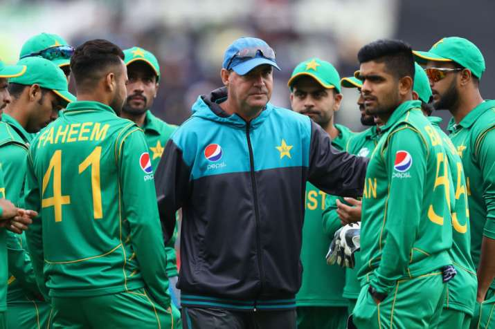 Mickey Arthur the Head Coach of Pakistan during the ICC