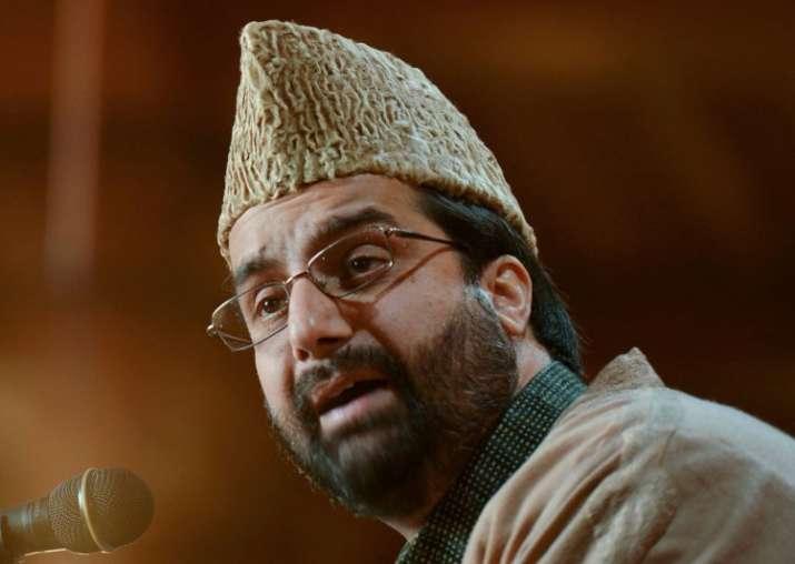 Separatist Hurriyat Conference leader Mirwaiz Umar Farooq