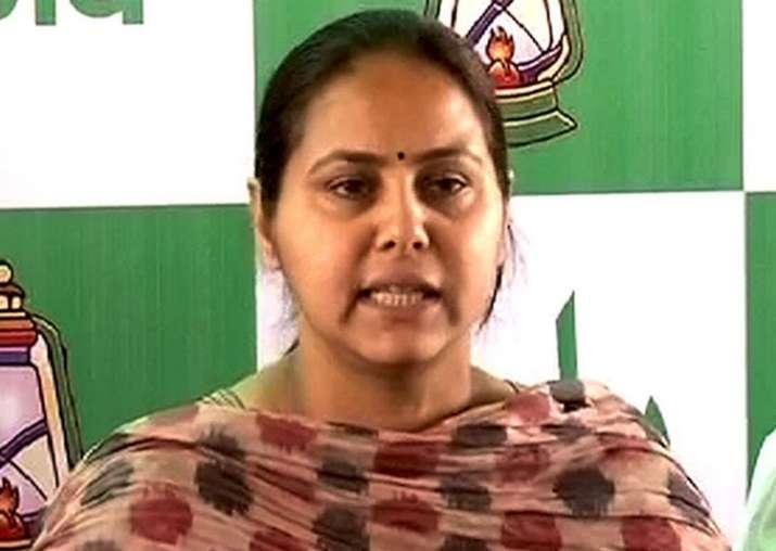 Benami land deal: Lalu's daughter Misa Bharti skips I-T
