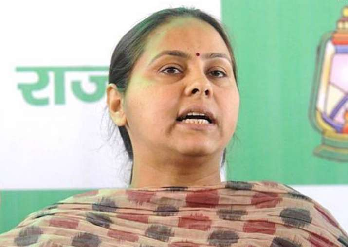 Lalu's daughter Misa Bharti appears before I-T