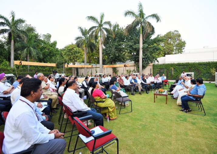 PM Modi meets secretaries, asks them to identify goals to