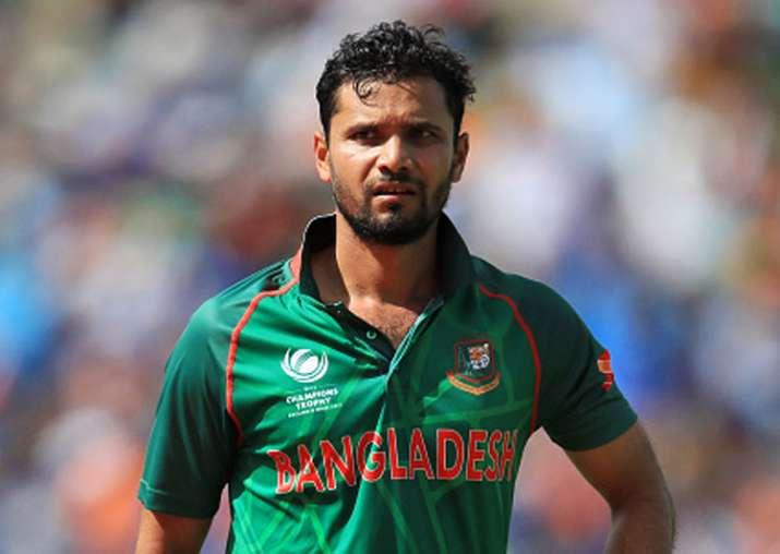 A file image of Bangladesh captain Mashrafe Mortaza.