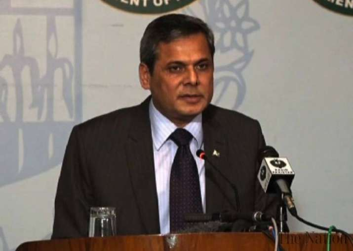 Pakistan said two officers from its in Afghanistan have