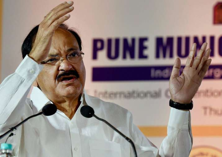 Naidu speaks during listing ceremony of PMC's bonds