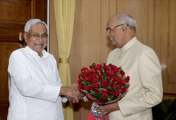 Nitish to lend support to Ram Nath Kovind's candidature,