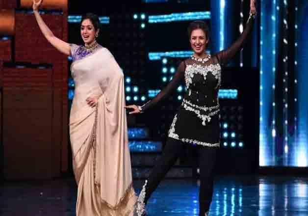 India Tv - Divyanka with Sridevi