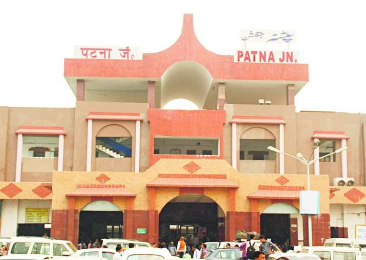 File pic - An outside view of Patna Junction
