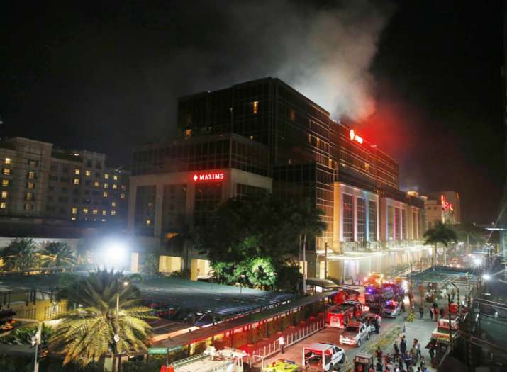 At least 36 killed after gunman sets fire to Philippine