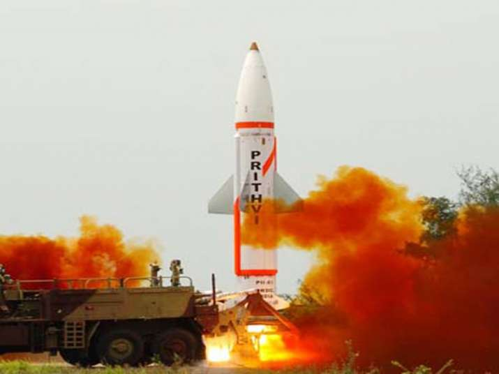 Nuclear-capable Prithvi-II missile successfully test-fired