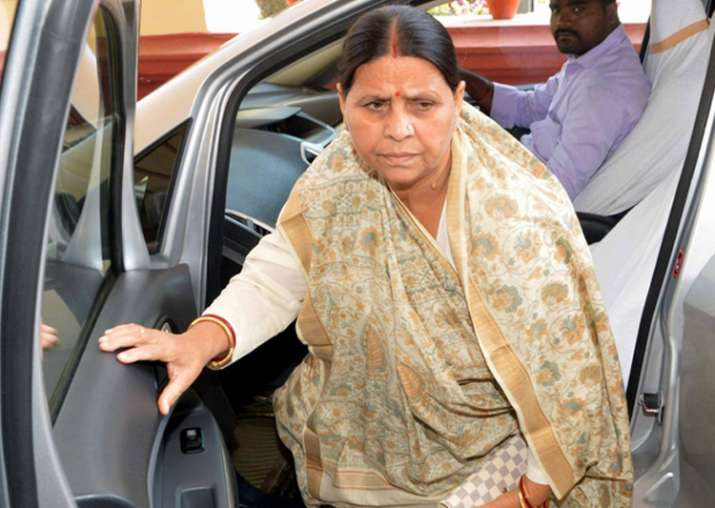 File pic of Rabri Devi
