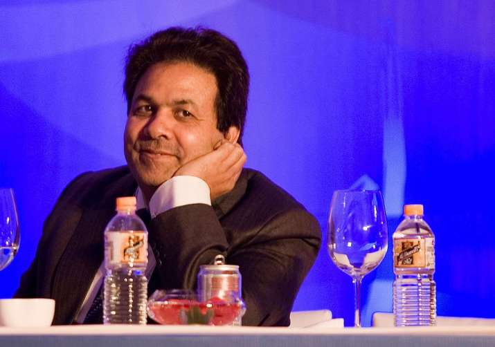 Rajeev Shukla, chairman of the BCCI Media and Finance