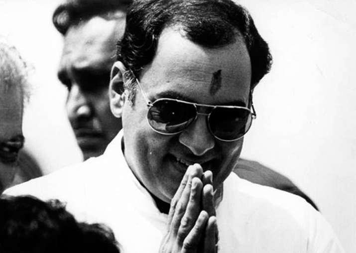 File pic of former Prime Minister Rajiv Gandhi
