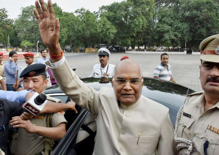 'Will seek support of all parties', says Ram Nath Kovind