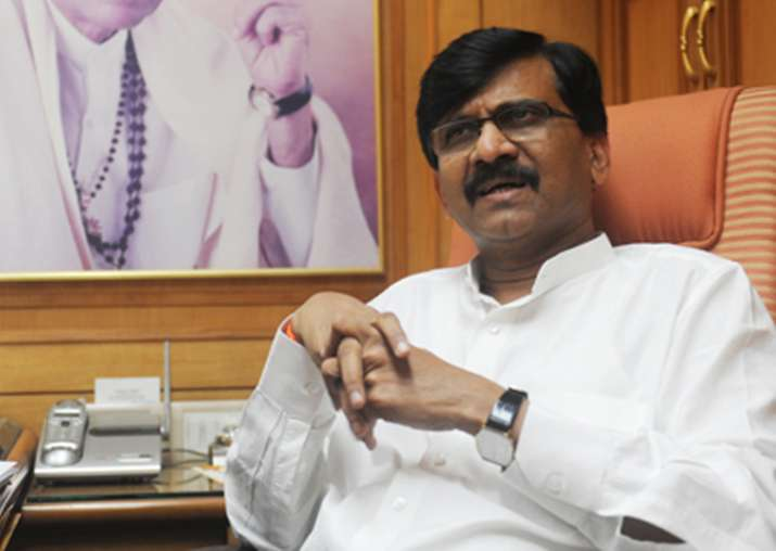 File pic of Sena MP Sanjay Raut