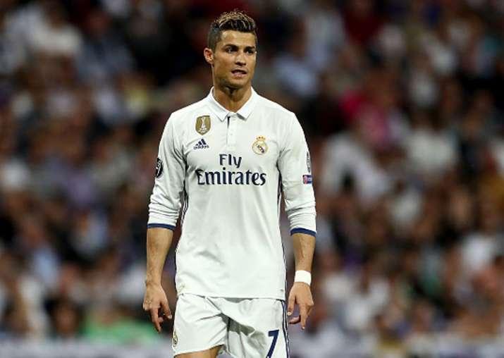 A file image of Cristiano Ronaldo.