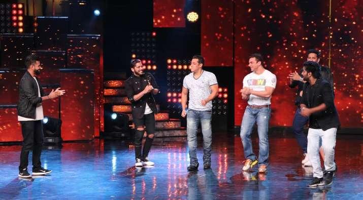 India Tv - Salman Khan on Nach Baliye to promote Tubelight