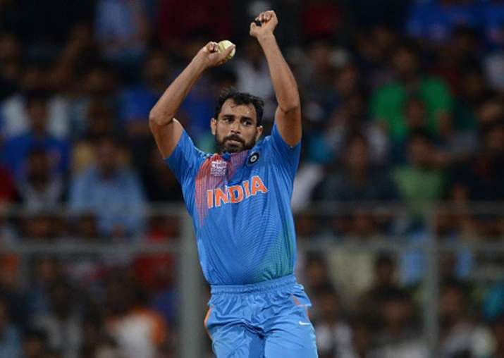 A file image of Mohammed Shami.