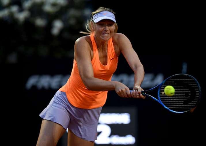 A file image of Maria Sharapova.