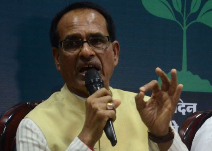 File pic of MP Chief Minister Shivraj Singh Chouhan