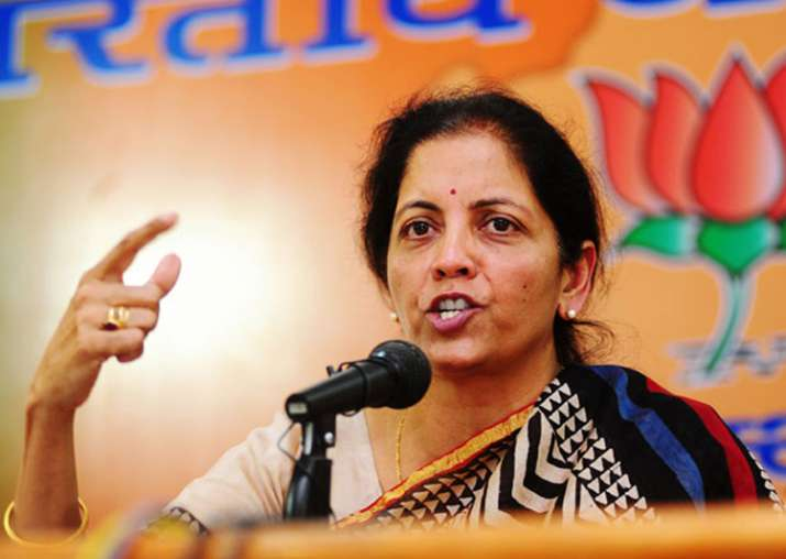 File pic of BJP leader and Union minister Nirmala