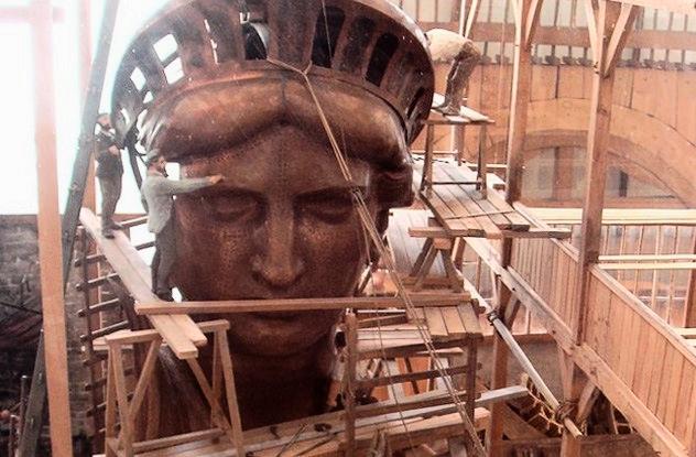 India Tv - statue of liberty was originally reddish brown in colour