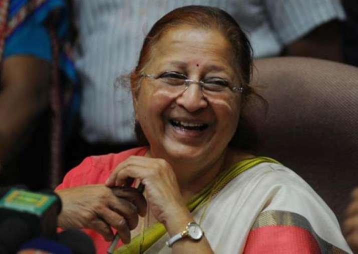 File pic of Speaker Sumitra Mahajan