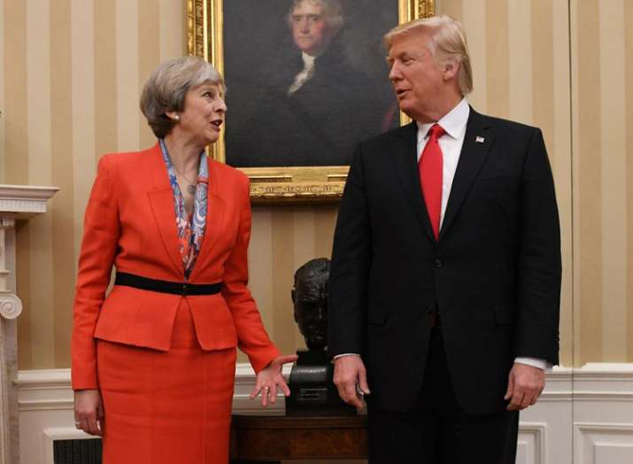 Trump speaks with Theresa May after London terror attacks