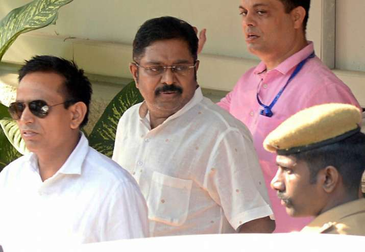 Dhinakaran came out on bail in the EC bribery case last week