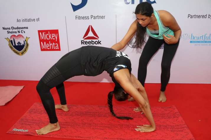 India Tv - Malaika Arora yoga